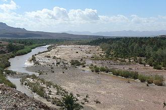 Draa River - Image: Draa River