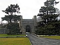 Dramatic entrance to Penrhyn Castle (geograph 2332034).jpg