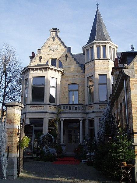 Huis Dr. Behn, Dreefstraat 21 Ninove