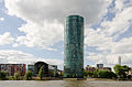Dresdner Bank Tower with river Main - Frankfurt - Germany - 04.jpg