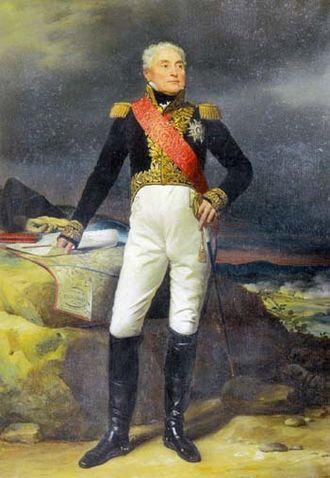 Joseph Lagrange (soldier) - Portrait in 1824 by Michel Martin Drolling.