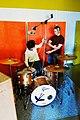 Drum mic setting in progress, Guy and Florian, Marc Morgan album recording, LowSwing studio, Berlin, 2011-01-22 12 07 56.jpg