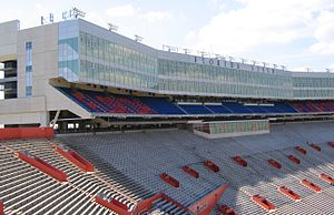 Ben Hill Griffin Stadium - Ben Hill Griffin Stadium skyboxes, completed in 2003