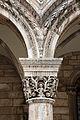 Dubrovnik, palazzo del rettore, portico, capitelli di giorgio orsini 02.JPG
