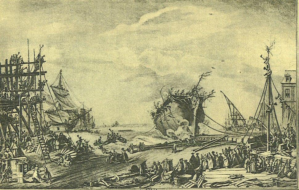 Duc de Bourgogne launch 1751