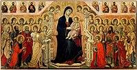La Maestà di Duccio (1308-1311). Siena, Museo dell'Opera Metropolitana del Duomo