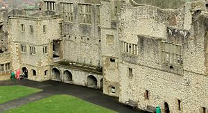 Edward Sutton, 5th Baron Dudley - Dudley Castle, now ruined, was Lord Dudley's seat and main home.