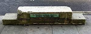 Mounting block - The Duke of Wellington's mounting block, Athenaeum Club, London
