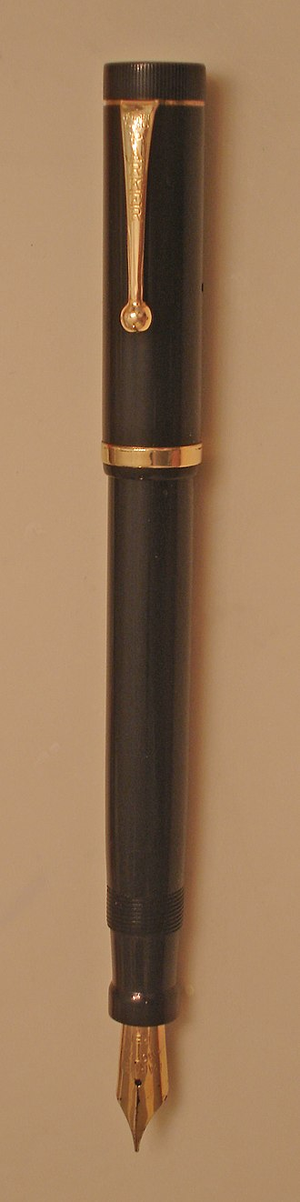 Fountain pen - Parker Duofold, c. 1924