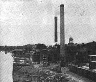 Hartford Electric Light Company - Dutch point power plant, circa 1909