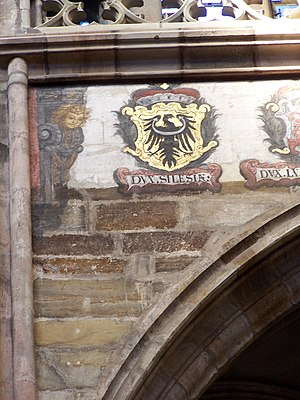 Treaty of Trentschin - Silesian coat of arms at St. Vitus Cathedral, Prague