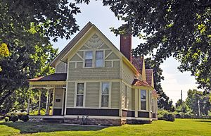 National Register of Historic Places listings in Greene County, Missouri - Image: ELIJAH TEAGUE ANDERSON, REPUBLIC, GREENE COUNTY, MO