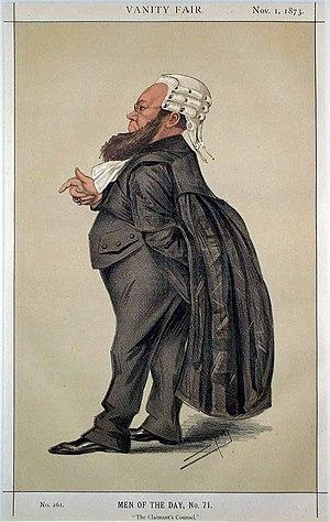 Edward Kenealy - Image: EVH Kenealy Vanity Fair 1 November 1873