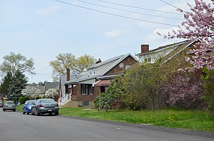 "Liberty, Allegheny County, Pennsylvania - Bungalows on ""E"" Street"