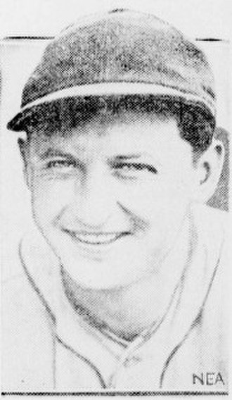 Ed Walsh Jr. - Image: Ed Walsh Jr. 1933