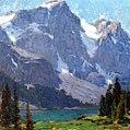 Edgar Payne Sierra Lake and Peaks.jpg