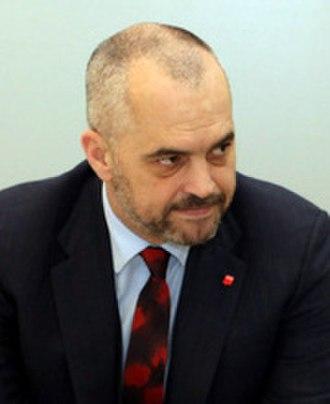 Albanian parliamentary election, 2009 - Image: Edi Rama 2