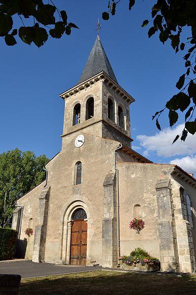 église de Saulzet (Allier)