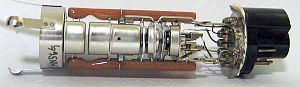 Electron gun - Electron gun from a cathode ray tube