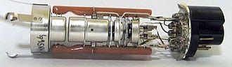 Electron gun - Electron gun from a cathode ray tube