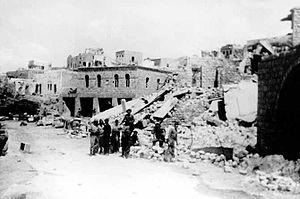 Ein al-Zeitun massacre - Ein al-Zeitun after being captured by the Yiftach Brigade. 1948