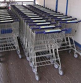 Genoeg Winkelwagen - Wikipedia &YJ69