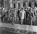 Eisenhower arriveert te Rotterdam om het commando over Canadese troepen die met , Bestanddeelnr 904-8605.jpg