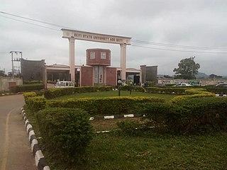 A University in Ekiti State, Nigeria