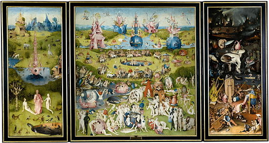 bosch the garden of earthly delights