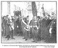 El ministro de Instrucción Pública, Sr Barroso, pronunciando su discurso en la clausura de la Exposición de Valencia, de Gómez Durán, Nuevo Mundo, 13-01-1910.jpg