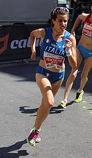 Eleonora Giorgi (racewalker) Italian racewalker