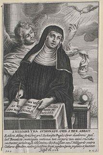 Elisabeth of Schönau German Benedictine visionary