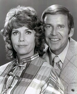 Elizabeth Allen (actress) - Allen and Paul Lynde in publicity photo for The Paul Lynde Show (1972)