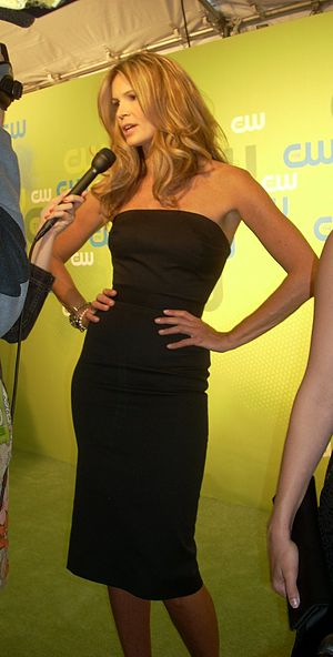 Elle Macpherson at the CW Upfront Presentation...
