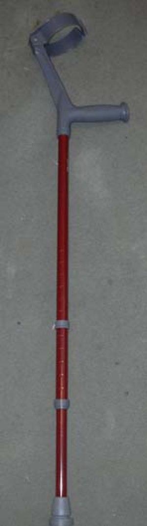 Mobility aid - forearm crutch