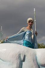 Elsa disney wikip dia - Robe reine des glaces ...