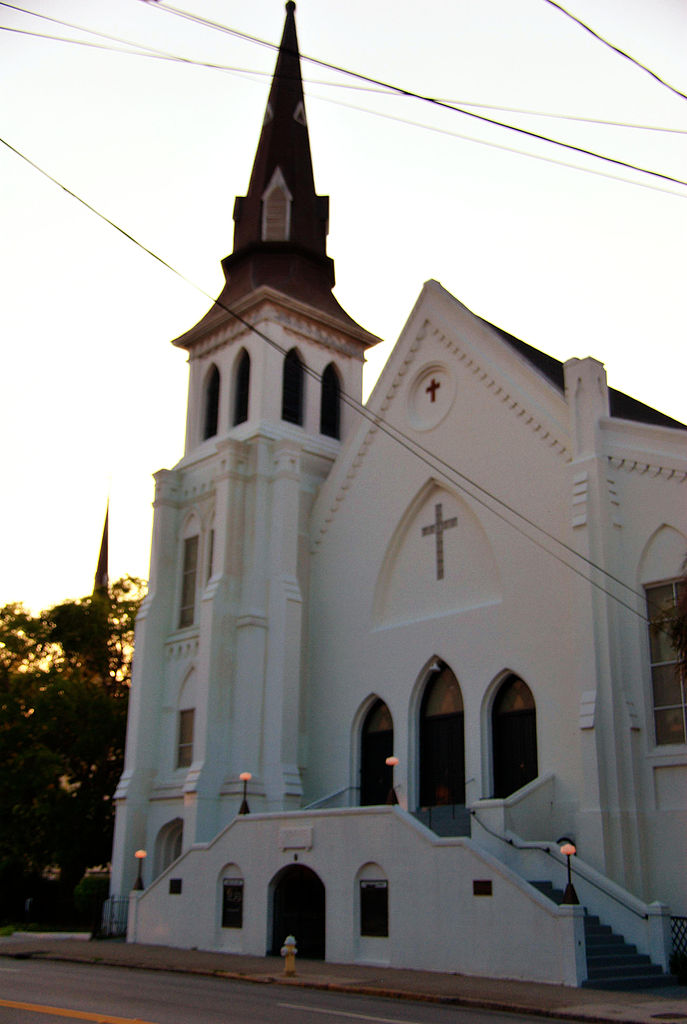The historic Emanuel African Methodist Episcopal (AME) Church in Charleston, SC. Photo by Cal Sr.