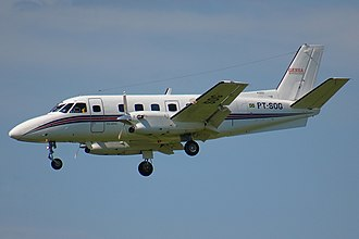 Knight Air Flight 816 - An Embraer EMB 110 similar to the accident aircraft