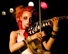 alt=Description de l'image Emilie Autumn at Nachtleben 2007 bis.jpg.