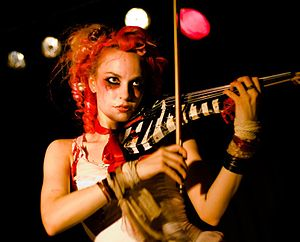 Emilie Autumn - Autumn performs live at Nachtleben 2007