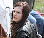 Emily Meade Emily Meade filming Twelve in Central Park, 21-04-09, crop.jpg