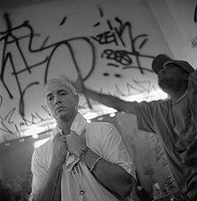eminem backstage in mnchen 1999 - Eminem Lebenslauf