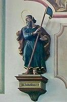Emmering Kirche St Johann Baptist & Evangelist 061 Nordwand Jakobus der Jüngere.jpg