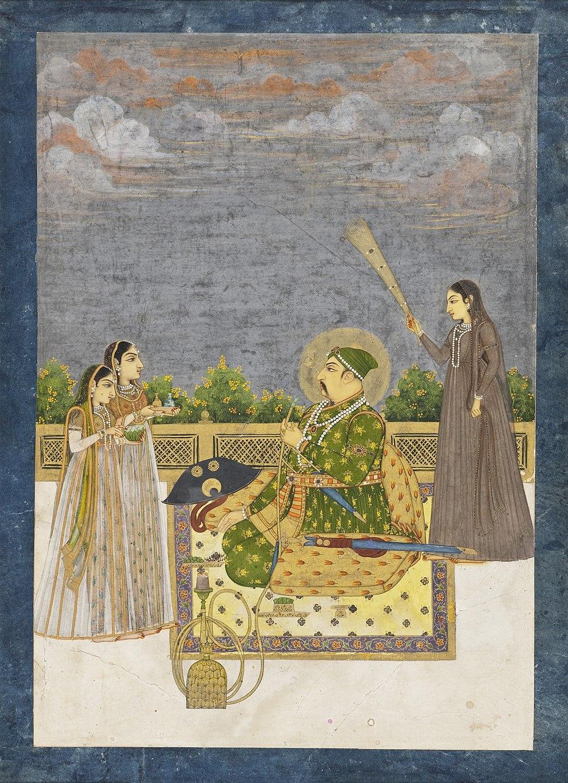 Emperor Muhammad Shah LACMA AC1997.127.1