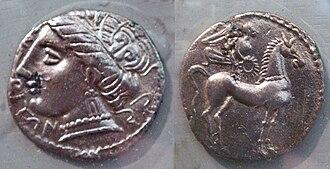 Empúries - Emporiae coins, 5th-1st century BC.