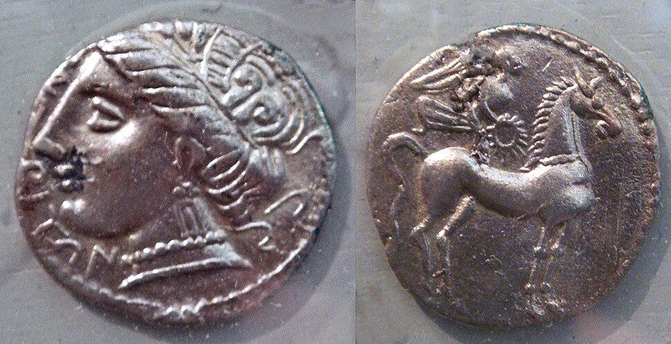 Emporiae coins 5th 1st century BCE