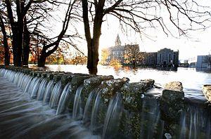 St. Flannan's College - St.Flannan's submerged in water (2009)
