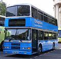 Ensignbus bus 163 (P563 SWC) ex-Dublin Bus RV341 (97 D 341) 1997 Volvo Olympian Alexander (Belfast), St Paul's Cathedral, 7 October 2010.jpg