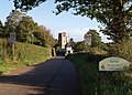 Entrance to Kenn village - geograph.org.uk - 581602.jpg