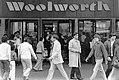 Entrance to Woolworth store on Washington Street (10086132945).jpg